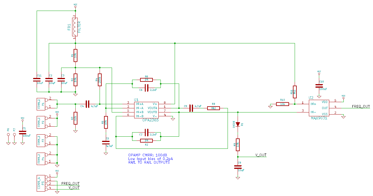 Doppler Radar For Collision Avoidance Mayur Patel Ece 4760 Pi Metal Detector Circuit Diagram Additionally The Composed Of A Small Power That Provided Capacitor Charged Filtered 5v And 25v