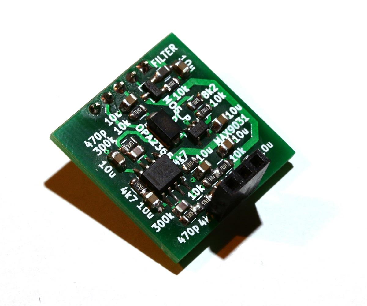 Making the Electronics for a 24GHz Doppler Motion Sensor