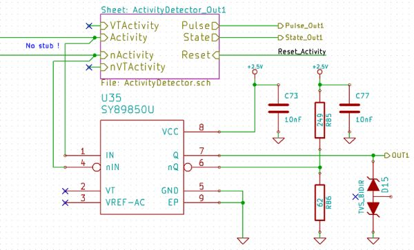 logic gate output