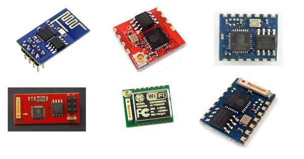 esp8266 modules