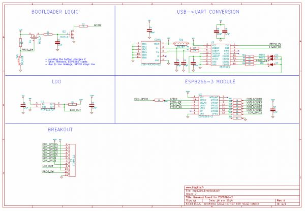 esp8266 dev board schematics